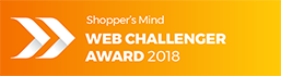 Shopper's Mind WEB CHALLENGER AWARD 2018