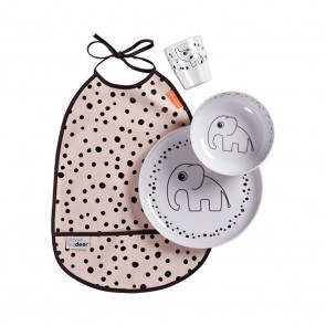 Set za jelo Happy dots Powder