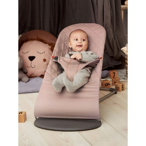 BabyBjörn Bouncer Bliss - ležaljka za dijete, Cotton Old rose