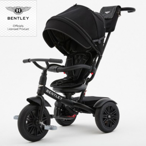 Bentley Trike Tricikl 6 u 1 - limited edition matt black