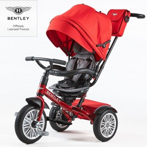 Bentley Trike Tricikl 6u1 - Dragon red