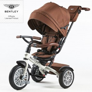 Bentley Trike Tricikl 6u1 - Satin white