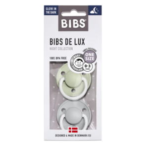 BIBS - Noćna duda de Lux, Sage & Cloud Night (0-36 m)