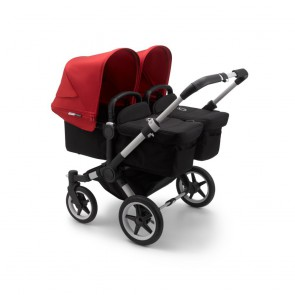 Bugaboo Donkey 3 Twin ALU/BLACK-RED