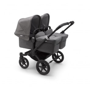 Bugaboo Donkey 3 Twin BLACK/GREY MELANGE