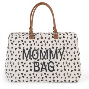 Torba Mommy Bag - Big Canvas Leopard