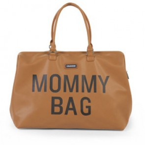 Torba Mommy Bag - leatherlook brown