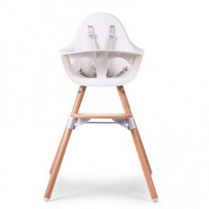 Childhome dječji stolac Evolu 2 White/Natural
