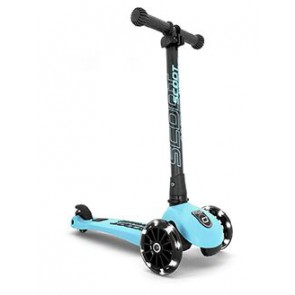 SCOOT&RIDE dječji romobil - Highwaykick 3 LED - Blueberry